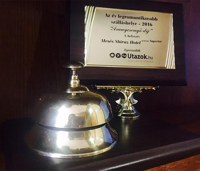 Shiraz Hotel - Aranycsengő díj - A romantika szállodája